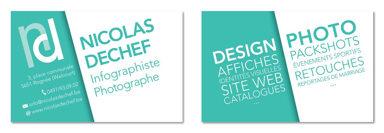Nicolas Dechef Recherche Carte De Visite 09