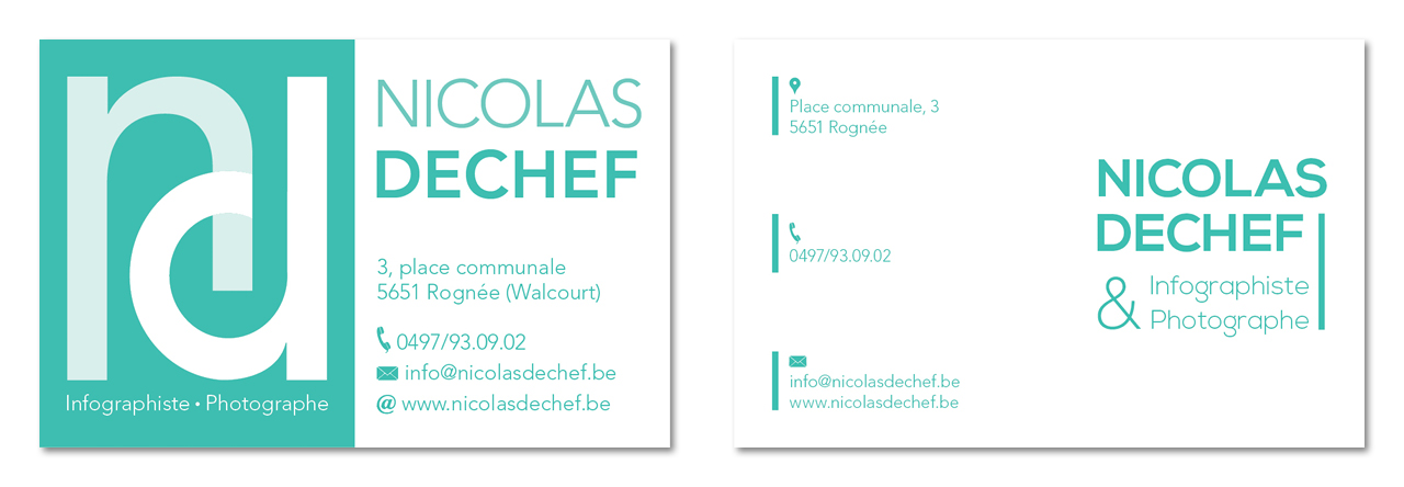 Nicolas Dechef Recherche Carte De Visite 10